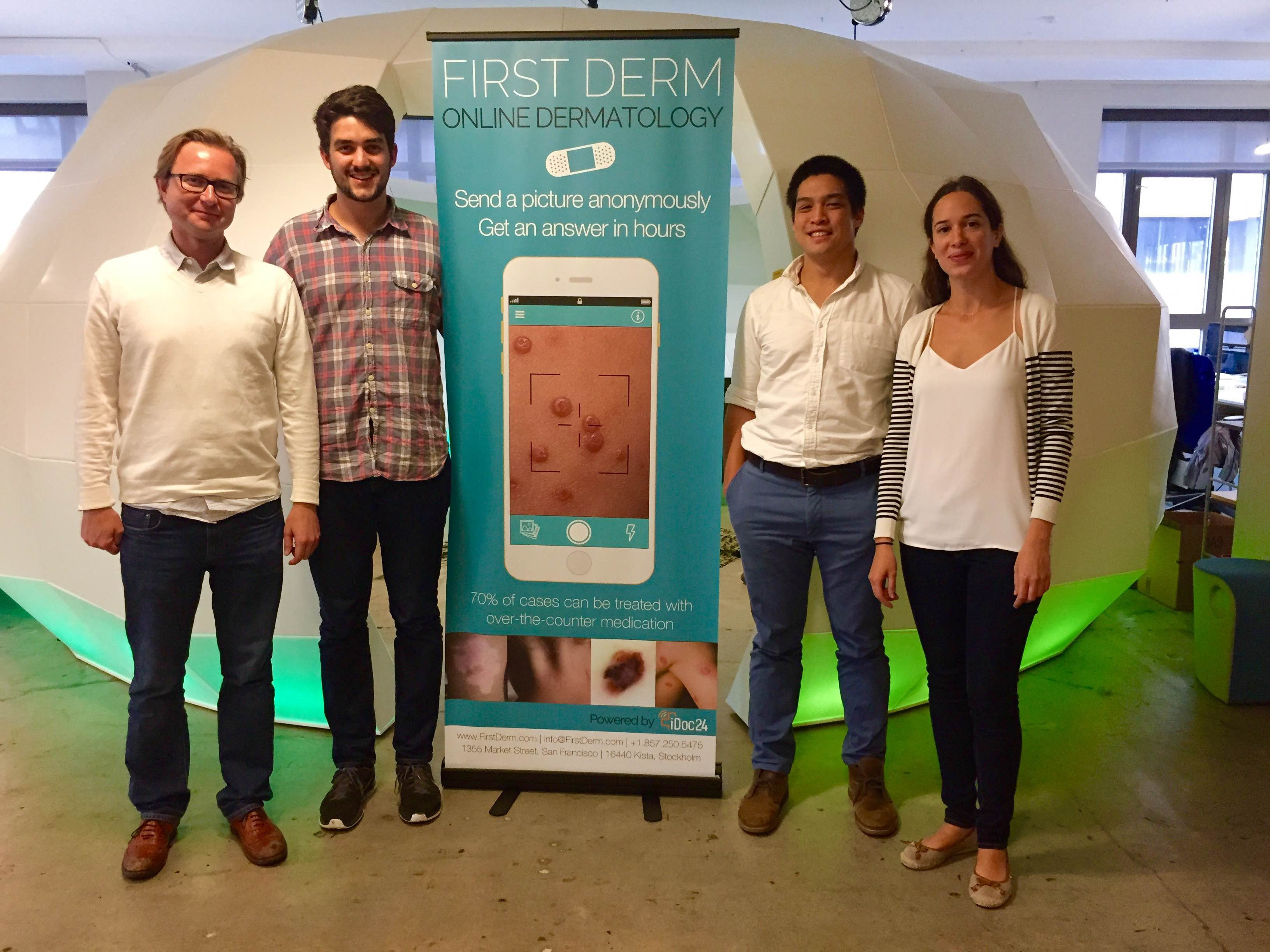 First Derm Won a Mobiley for Mobile Innovation