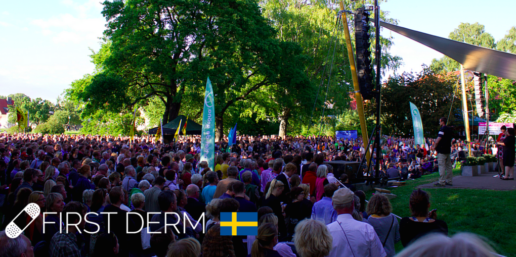 First Derm in Sweden for Almedalen