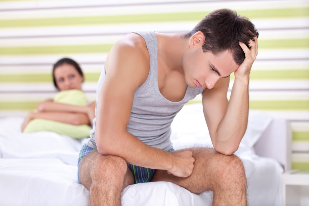 sex rash worried man and his girlfriend