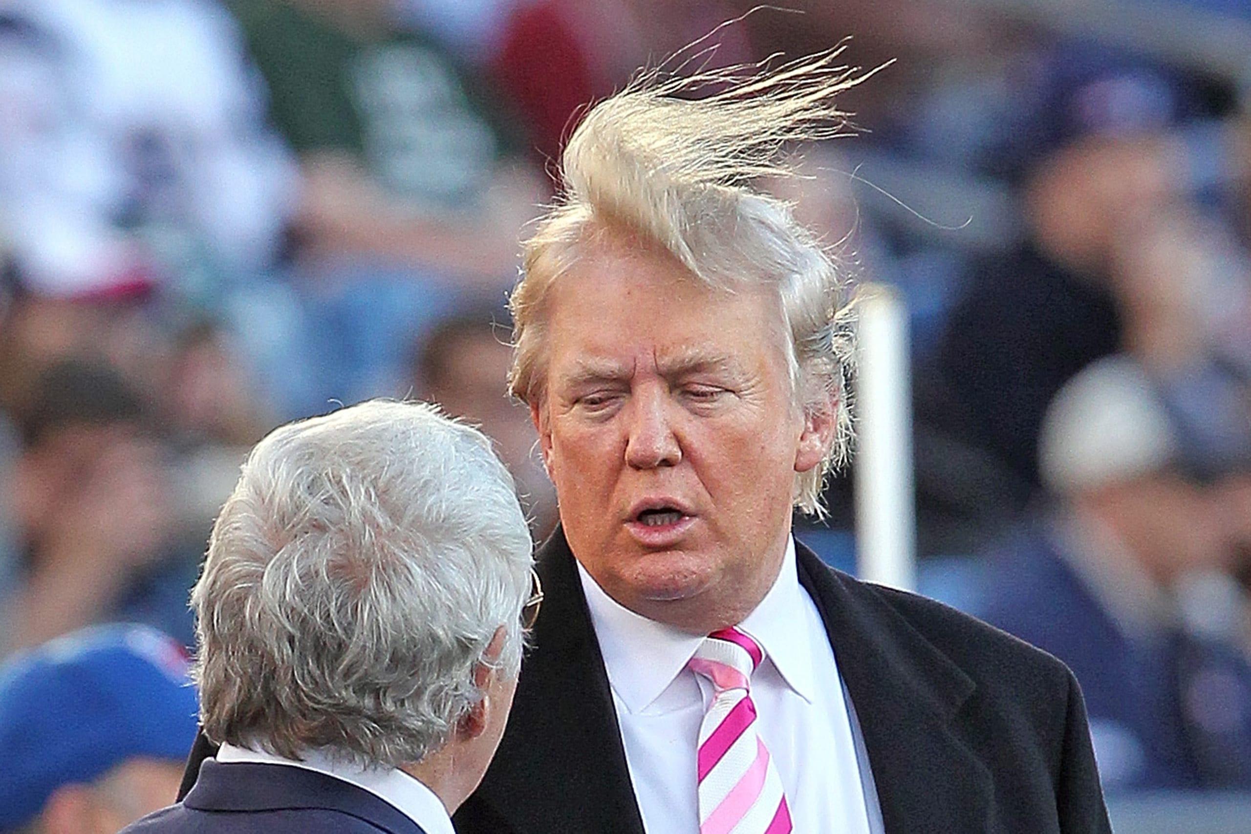 Håravfall Trump