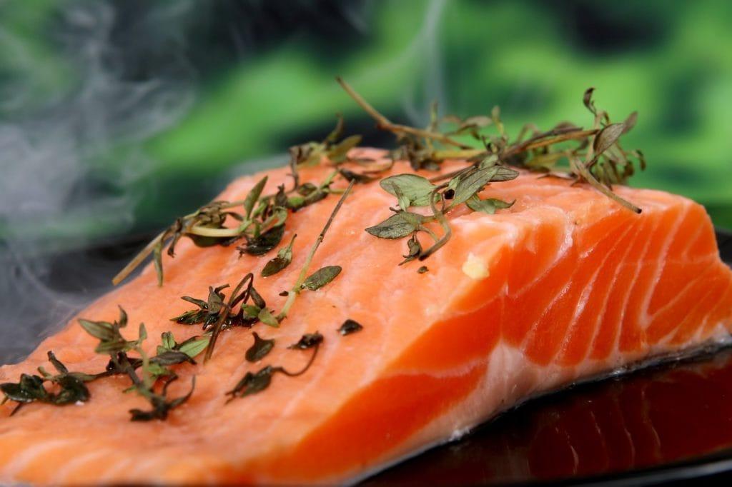 lax mat fisk hudvård