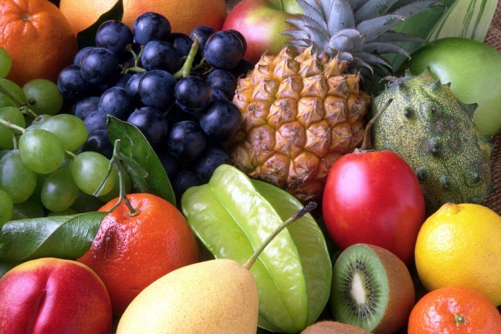 Mat-frukt-hudvård