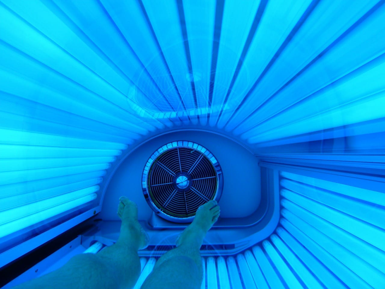 tanning bed skincare