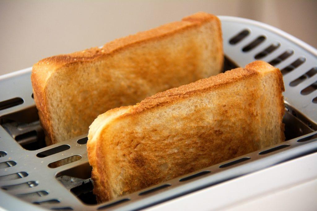 toast vitt bröd mat hudvård