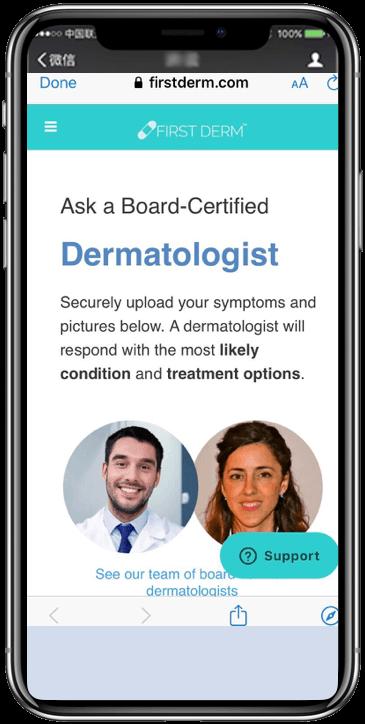 Autoderm Bot Telegram messenger Ask Online dermatologist