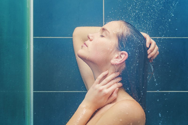 Why Hot Showers Are Bad For Our Skin
