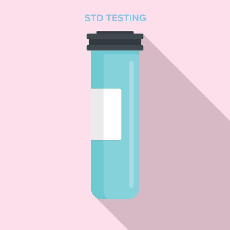 Könssjukdomar test